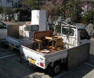 廃品・不用品の回収